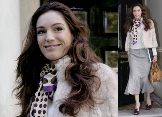 Photos Of Kelly Brook After Rehearsals For Fat Pig