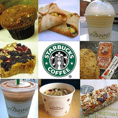Starbucks Tries New Menu