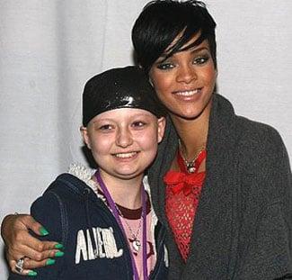 Rihanna's Green Nails