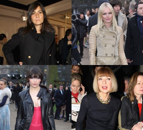 Photos of Best Dressed Celebrities at London Fashion Week Autumn 2011