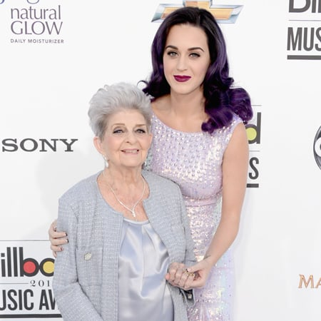 Katy Perry Pictures With Grandmother Ann Hudson at 2012 Billboard Music Awards