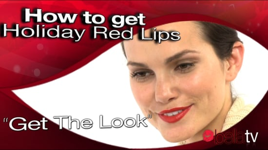 get holiday red lips
