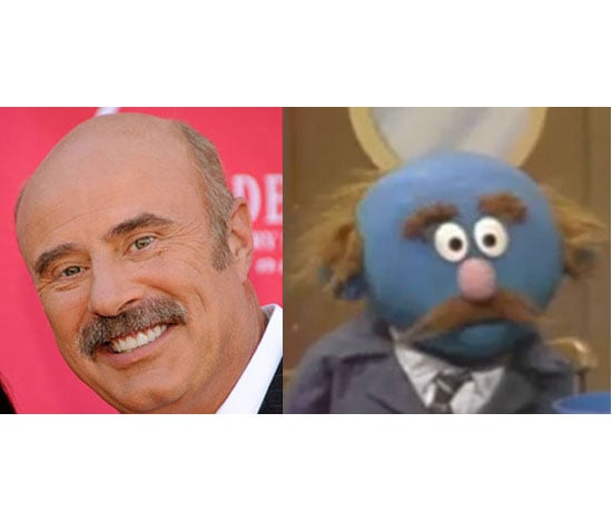 Six Celebrities Who Look Like Cartoon Characters and Muppets