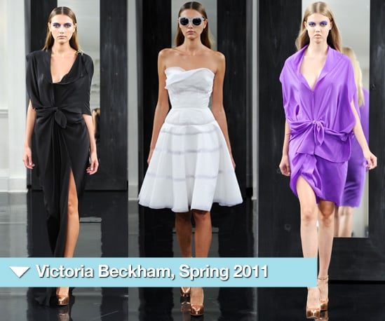 Photos of Victoria Beckham's Collection for Spring 2011 at New York Fashion Week