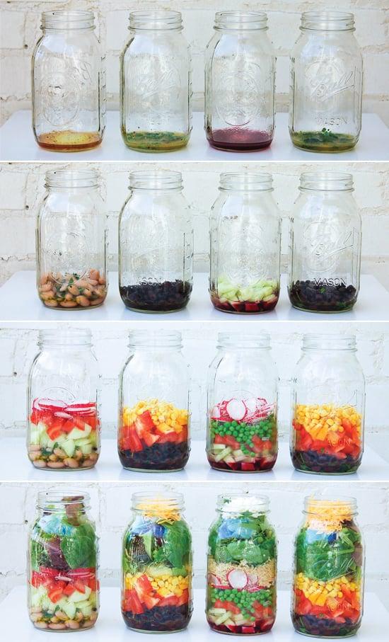 how to make food salad