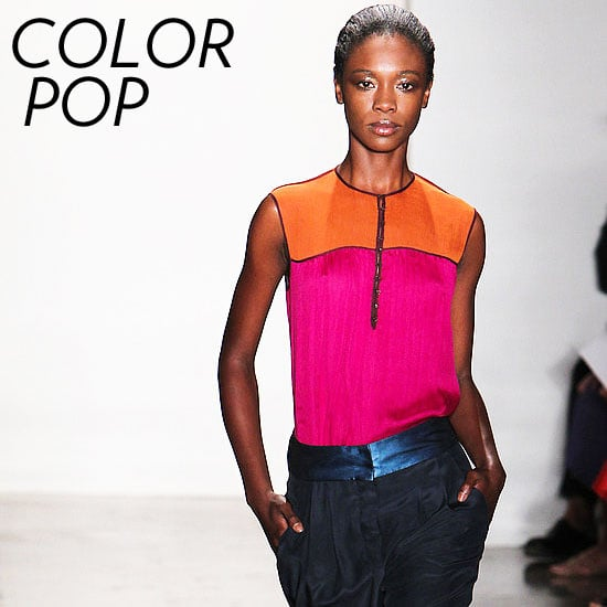 Spring Colorblock Trend