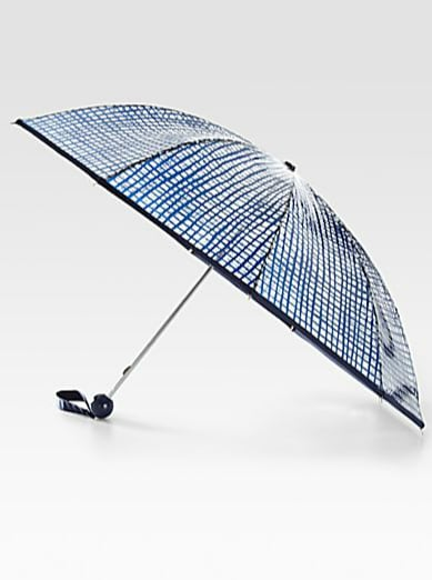 We love the abstract check print on this Marc by Marc Jacobs umbrella ($58).