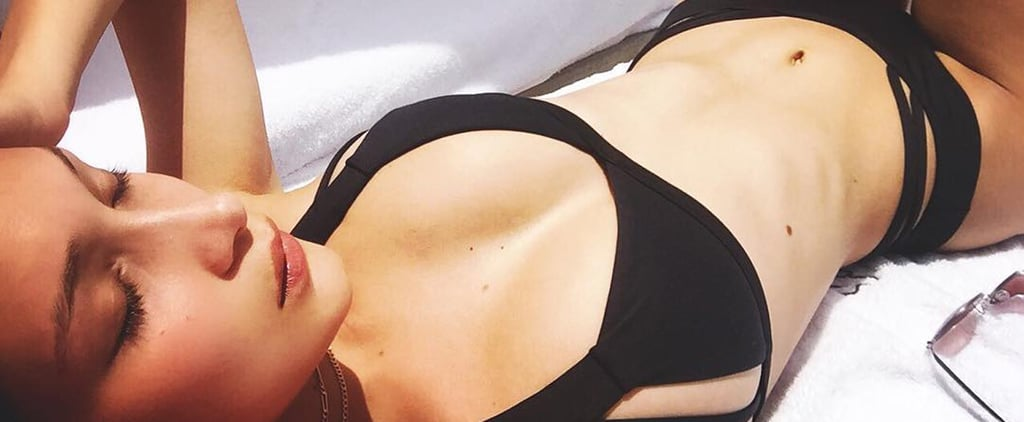 Bella Hadid Can't Get Enough of This Simple Yet Sexy Bikini Style
