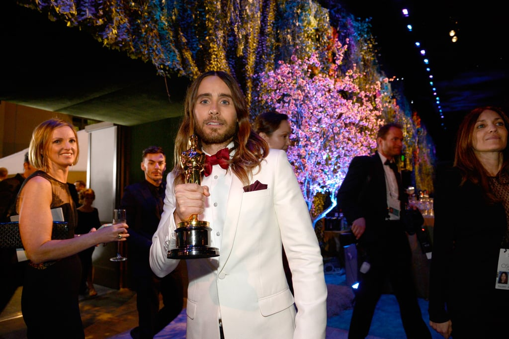 Jared flaunted his win.