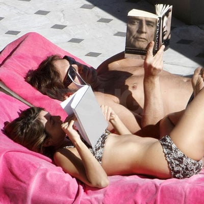 Penelope Cruz and Javier Bardem in Nice, France