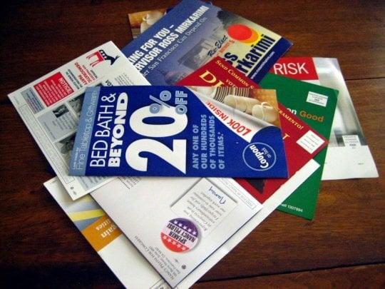 Casa Verde: Got Junk Mail?