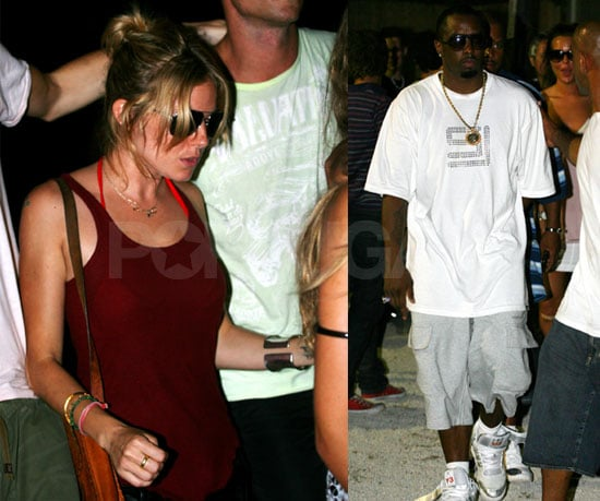 Diddy & Sienna Live It Up Ibiza Style