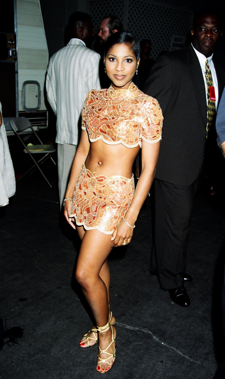 Toni Braxton performed.