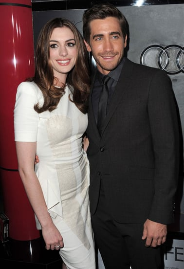 Pictures of Jake Gyllenhaal and Anne Hathaway at Love and Other Drugs Premiere in LA