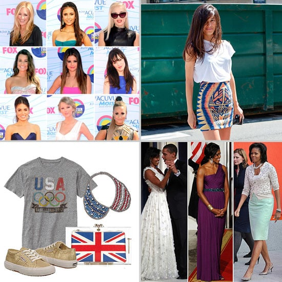 Fashion News and Shopping, July 23 to 29, 2012