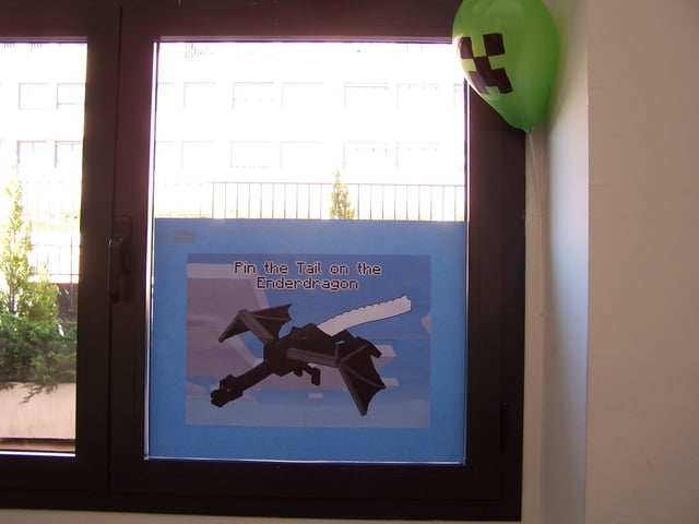 Pin the Tail on the Enderdragon