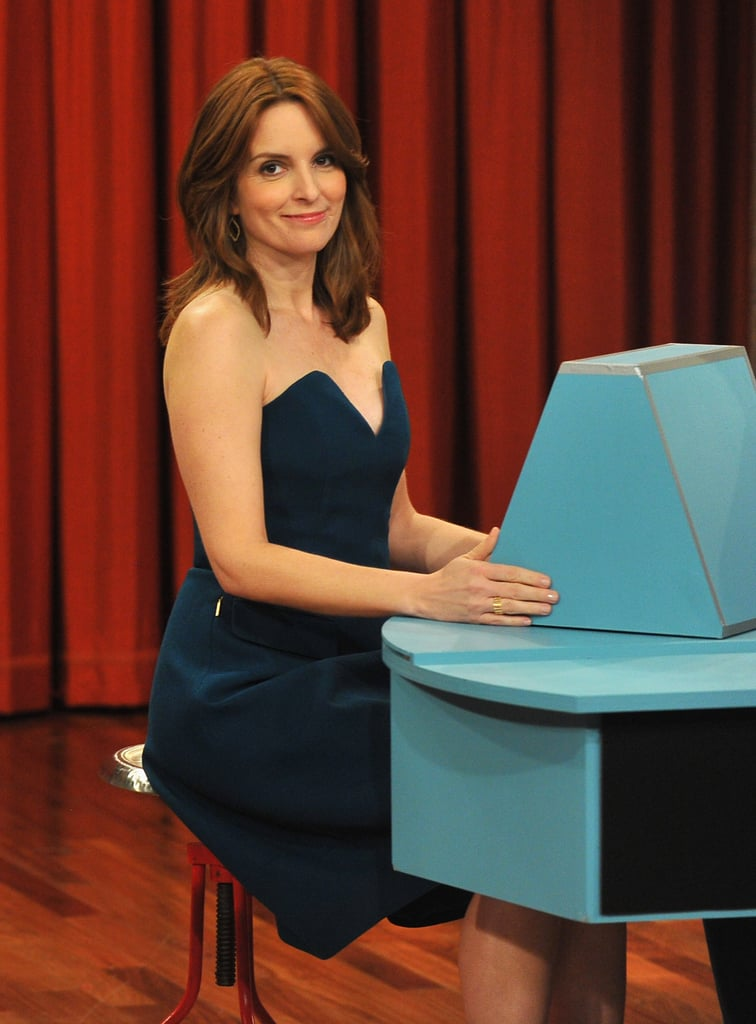 Tina Fey Flaunts Her Game-Show Skills on Late Night