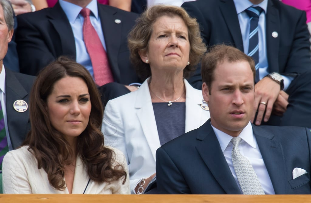 Prince William watched Wimbledon with Kate Middleton.
