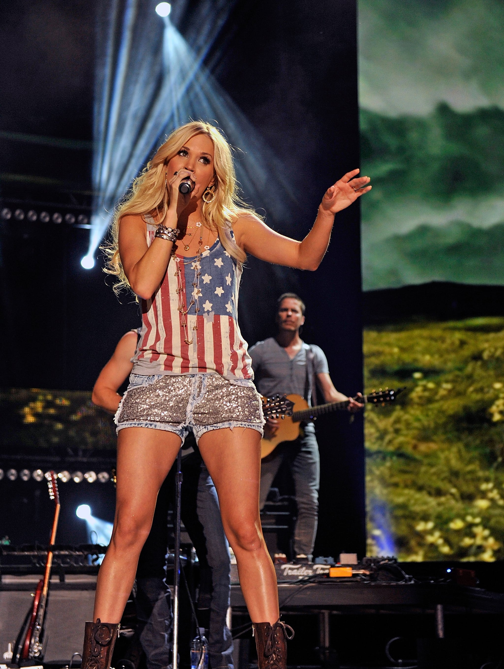 Carrie Underwood at the CMA Music Festival in 2012