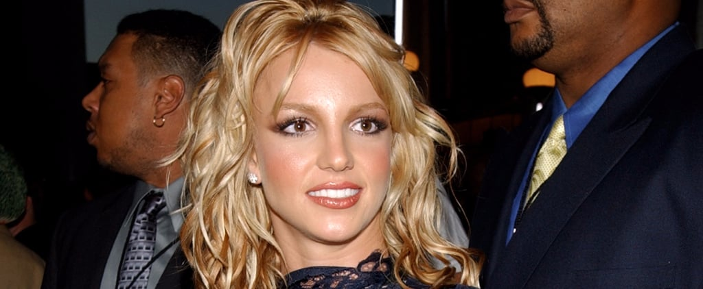 """Britney Spears Gave a Nostalgic Nod to Her Iconic Lace Look in the """"Make Me"""" Video"""