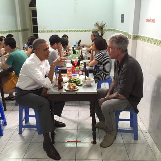 Anthony Bourdain Eats With President Obama in Vietnam