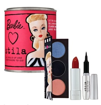 Monday Giveaway! Barbie Loves Stila Paint Can — 1959 #1 Ponytail Doll