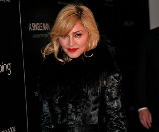 Slide Photo of Madonna at MOMA For Movie Screening