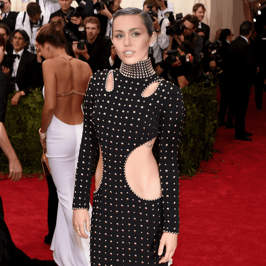 As Usual, Miley Cyrus Sexes It Up at the Met Gala