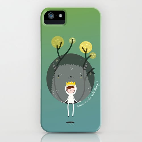 Get lost in the wonderful world of author Maurice Sendak with an illustrative Where the Wild Things Are iPhone case ($35).