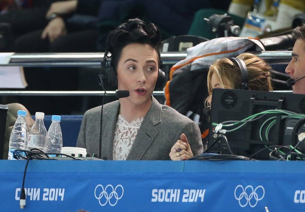 Johnny Weir's Sochi Olympics Style
