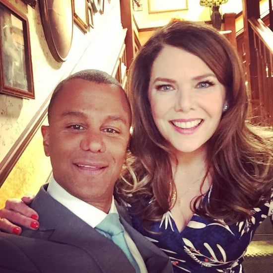 Yanic Truesdale Posts a Photo on the Set of Gilmore Girls