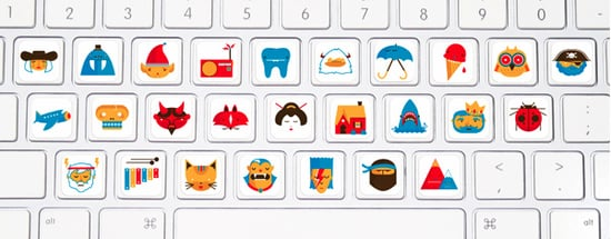 Keyboard Stickers For Kids