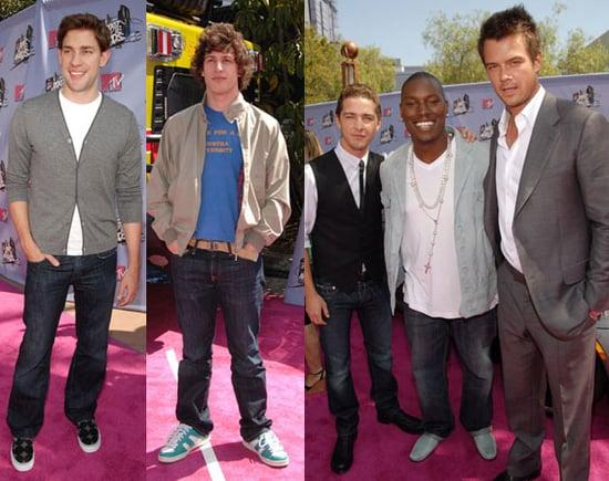 The Boys Take Some Chances on MTV Pink Carpet