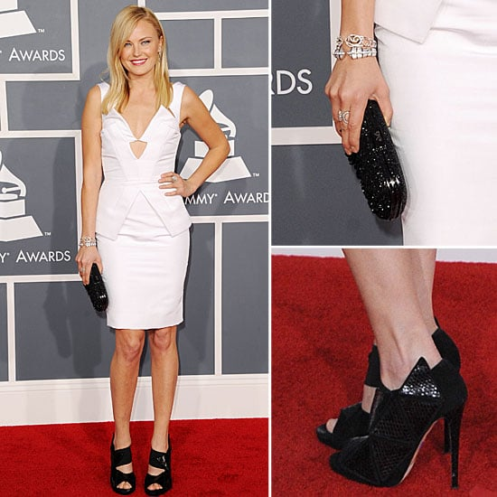 Malin Akerman at Grammys 2012