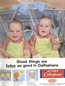 Grab Bag: Who Needs Nannies When You Have Cellophane?