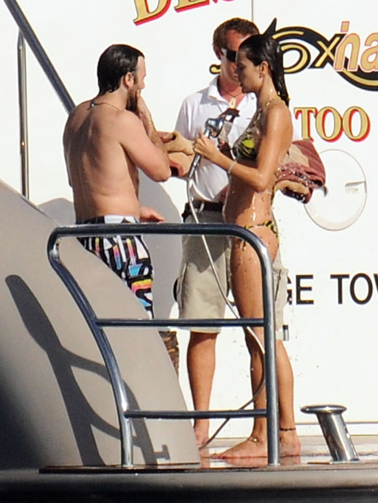 Alessandra Ambrosio Gets In on the Bikini Action in St. Barts!