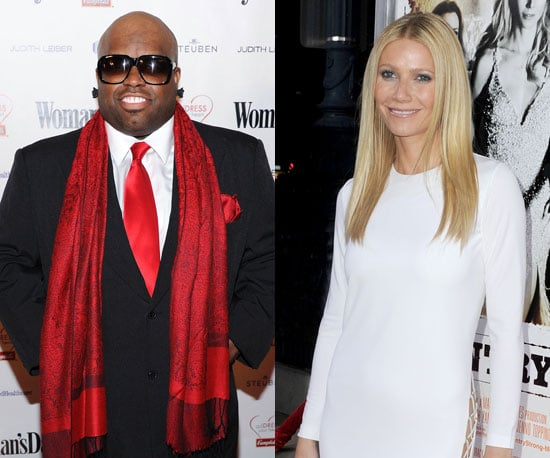 Cee-Lo Green, Gwyneth Paltrow and Jim Henson Puppets