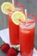 Sparking Strawberry Lemonade