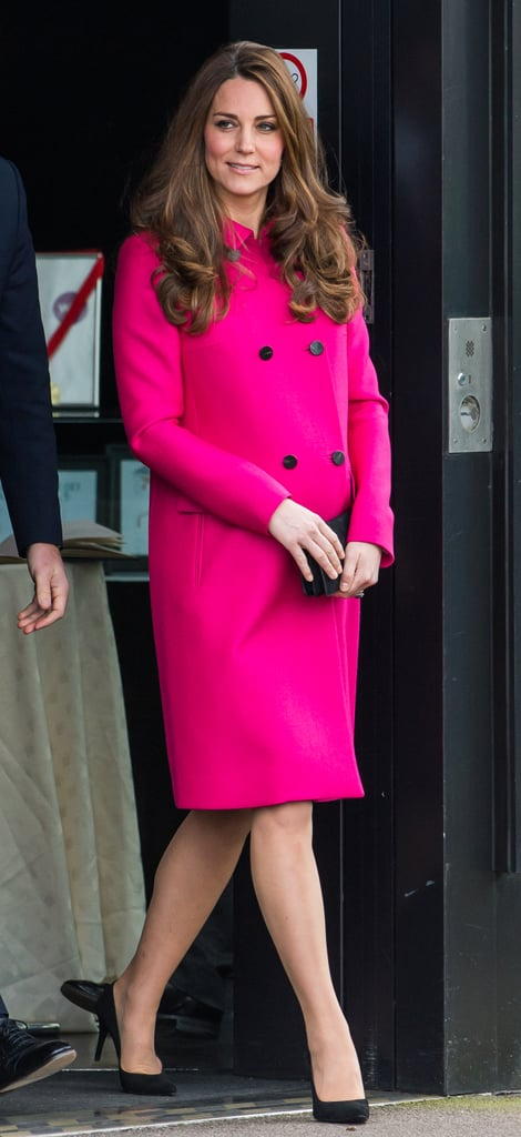 Kate Middleton at the Stephen Lawrence Center in 2015