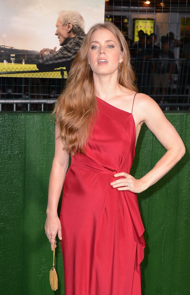 Amy Adams arrived at her Trouble With the Curve LA premiere.
