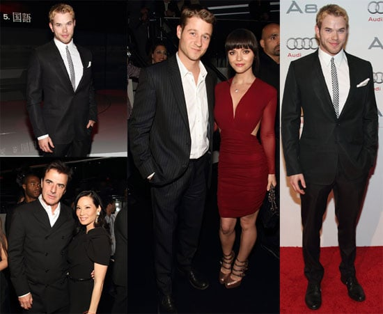 Photos of Kellan Lutz at the Audi A8 Premiere in Miami 2009-12-01 10:00:00