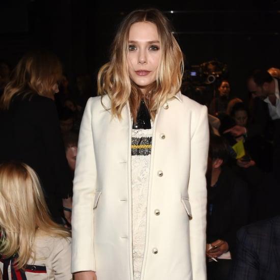 Elizabeth Olsen's Dress at the Gucci Autumn 2016 Show