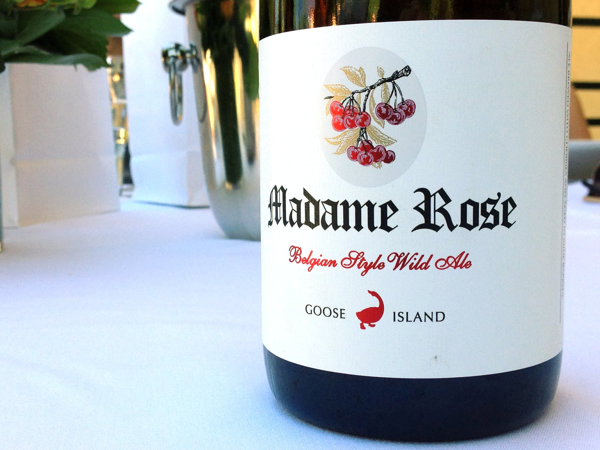 Goose Island Madame Rose Belgian Style Wild Ale