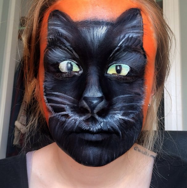Halloween Face Paint Ideas POPSUGAR Beauty - Cool Halloween Face Paint