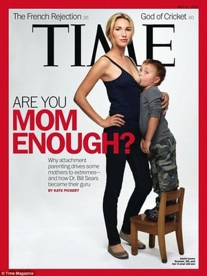 TIME Cover Shows Mom Breastfeeding Almost 4-Year-Old