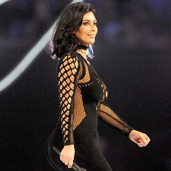 Kim Kardashian Jumpsuit at the Brit Awards