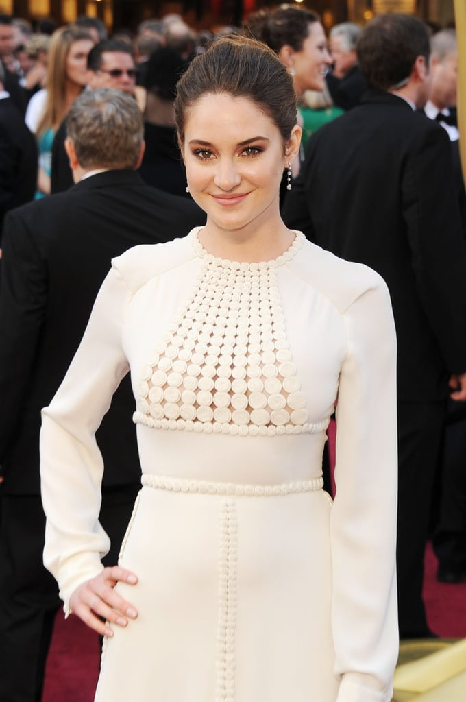 Shailene Woodley at the 2012 Oscars.