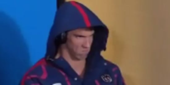 Michael Phelps Wins Gold For His Furious Olympic Game Face