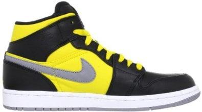 Amazon.com: Nike Air Jordan 1 Phat Mid Mens Basketball Shoes 364770-050: Shoes