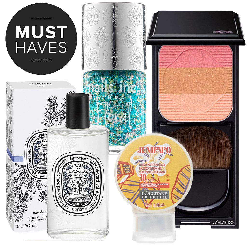 We're no doubt heading outdoors as much as possible this month. To get prepped for the beach and beyond, POPSUGAR Beauty rounded up exactly what products we are buying and using over the next four weeks.